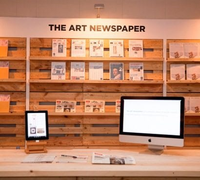 The art newspaper: book trade calls for self-policing as library.